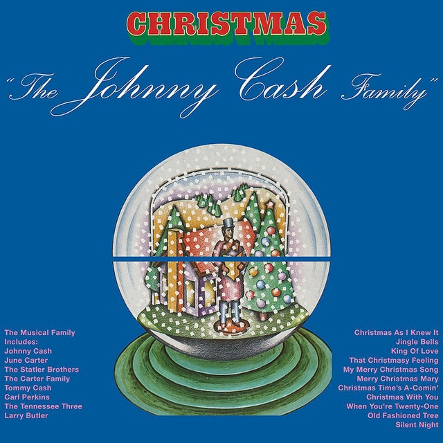 Johnny Cash - Johnny Cash Family Christmas LP (Vinyl)
