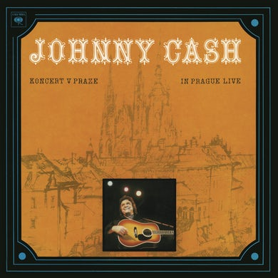 Johnny Cash Koncert V Praze (In Prague- Live) LP (Vinyl)
