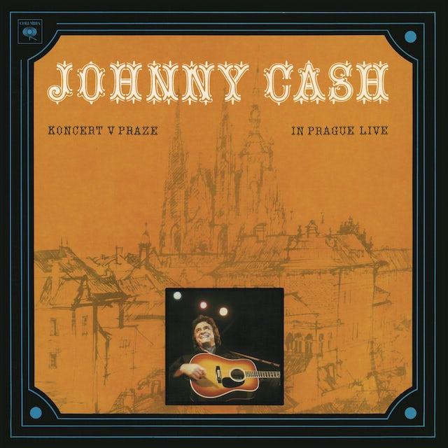 Johnny Cash Koncert V Praze (In Prague- Live) LP (Vinyl)