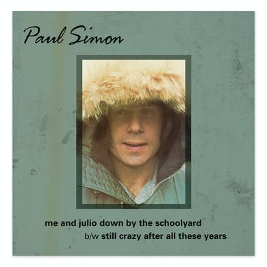 Paul Simon Threads + Grooves 7 Inch Vinyl LP