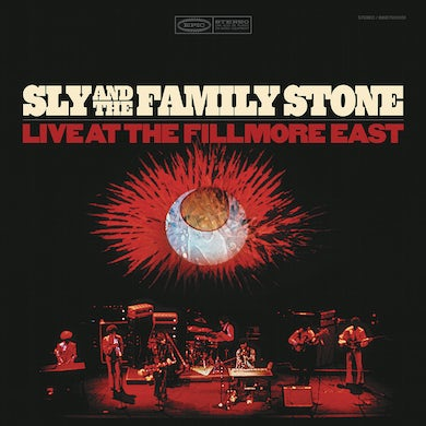 Sly & The Family Stone Live At The Fillmore LP (Vinyl)