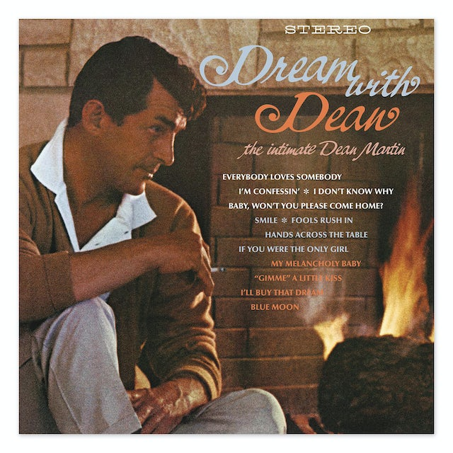 Dean Martin Dream With Dean LP (Vinyl)