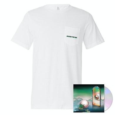 Nick Hakim - Green Twins CD + T-Shirt Bundle