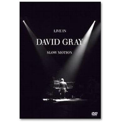 David Gray - Live In Slow Motion DVD