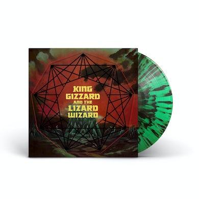 "King Gizzard & The Lizard Wizard – ""Nonagon Infinity"" Green w/Black Splatter Vinyl"