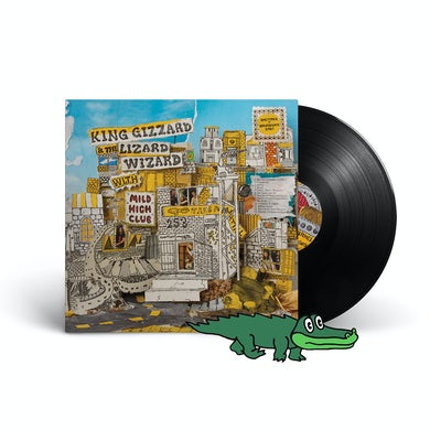"King Gizzard & The Lizard Wizard w/Mild High Club – ""Sketches Of Brunswick East"" Black 180-Gram Vinyl"