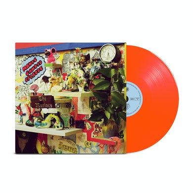 Manic Candid Episode Neon Orange Colored Vinyl