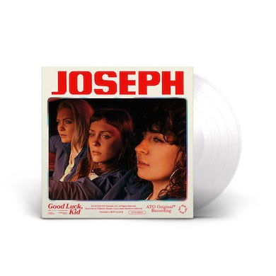 Good Luck, Kid LP on Clear Colored Vinyl