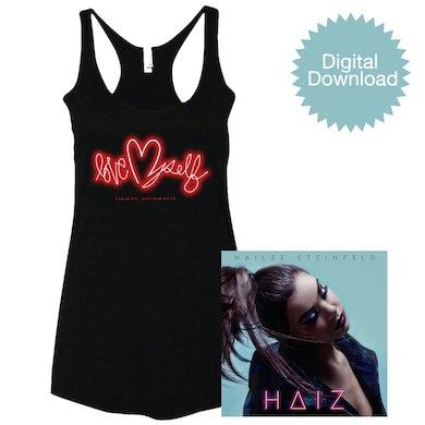 Hailee Steinfeld HAIZ Digital EP + Racerback Tank
