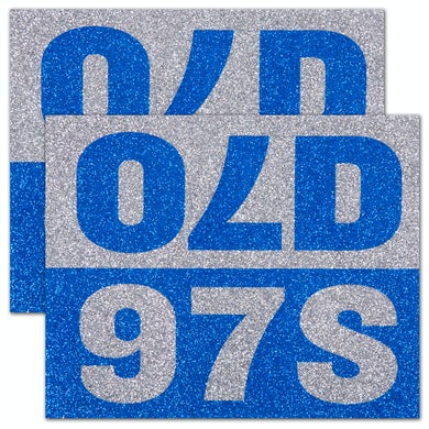 Old 97's - Sparkle Sticker (Pack of 2)