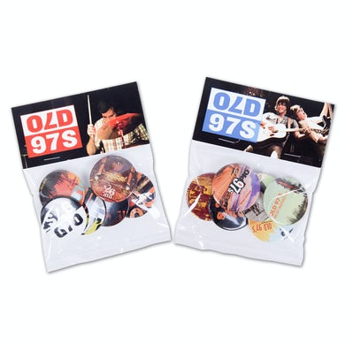 Old 97's Button Packs - Series 1 and 2 Combo