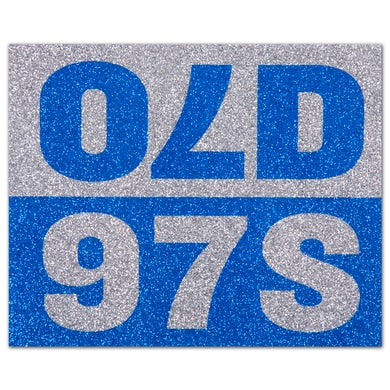 Old 97's Sparkle Sticker -- Small