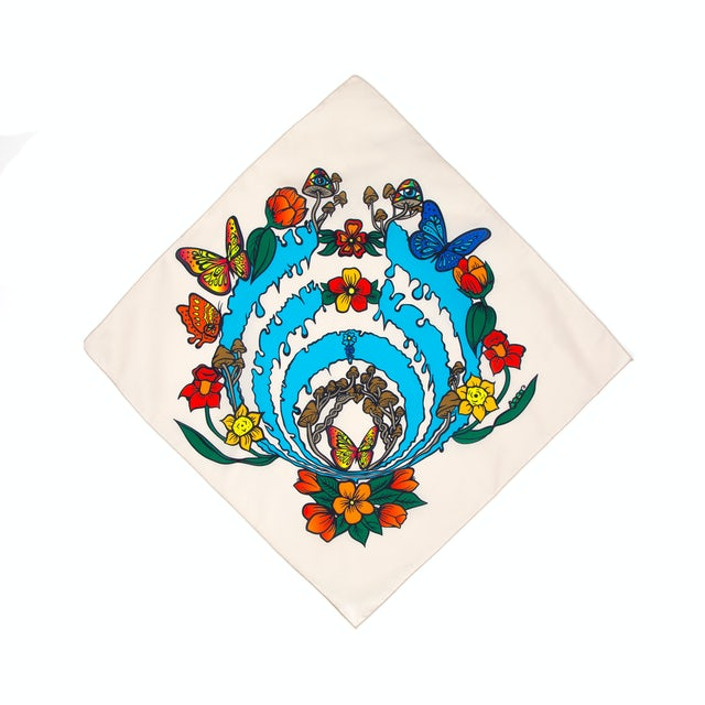 Bassnectar Blooming Bass Drop Bandana