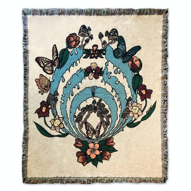 Bassnectar Blooming Bass Drop Blanket