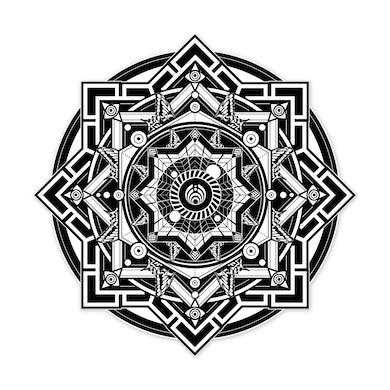 Bassnectar NYE360 Sacred Black White Pin