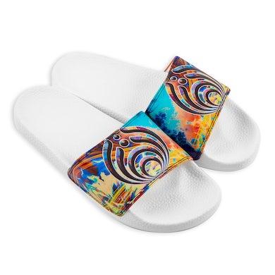 Bassnectar Tie Dye Slides