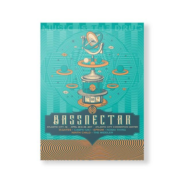 Bassnectar Atlantic City 2017 Poster