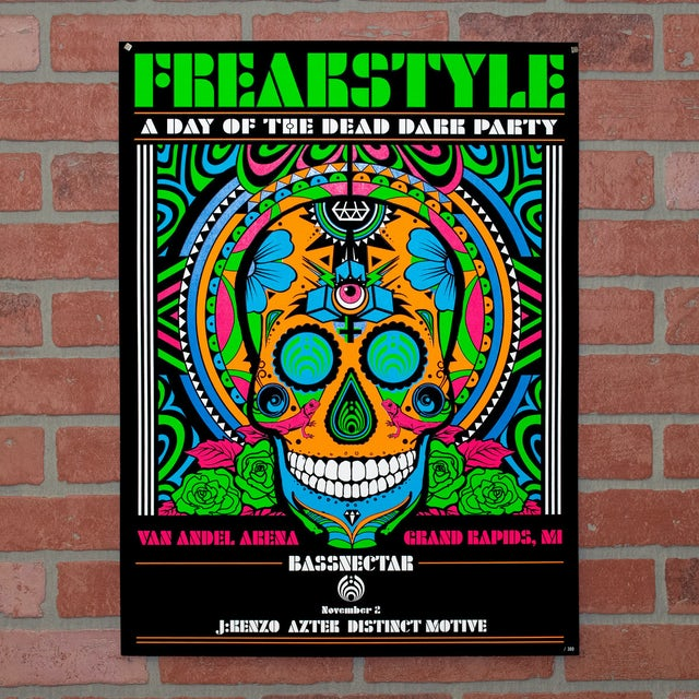 Bassnectar Freakstyle Day 2 Poster