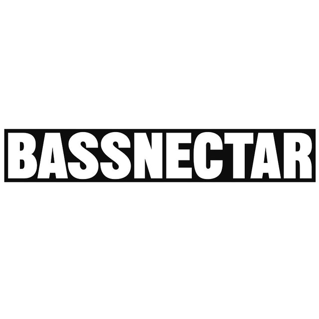 Bassnectar Large Logo Bumper Sticker