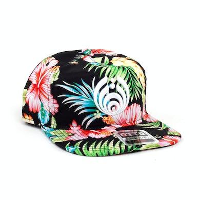 Bassnectar Floral Puffy Bassdrop Logo Hat