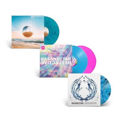 Bassnectar Reflective 1-4 Vinyl Bundle
