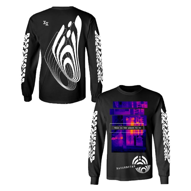 Bassnectar The Place To Be Long Sleeve Tee