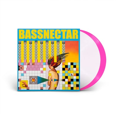 Bassnectar - Noise vs. Beauty Pink & White Double Vinyl