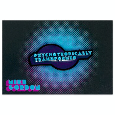 Mike Gordon Psychotropic Enamel Pin