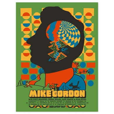Mike Gordon Headspace Winter 2020 Poster