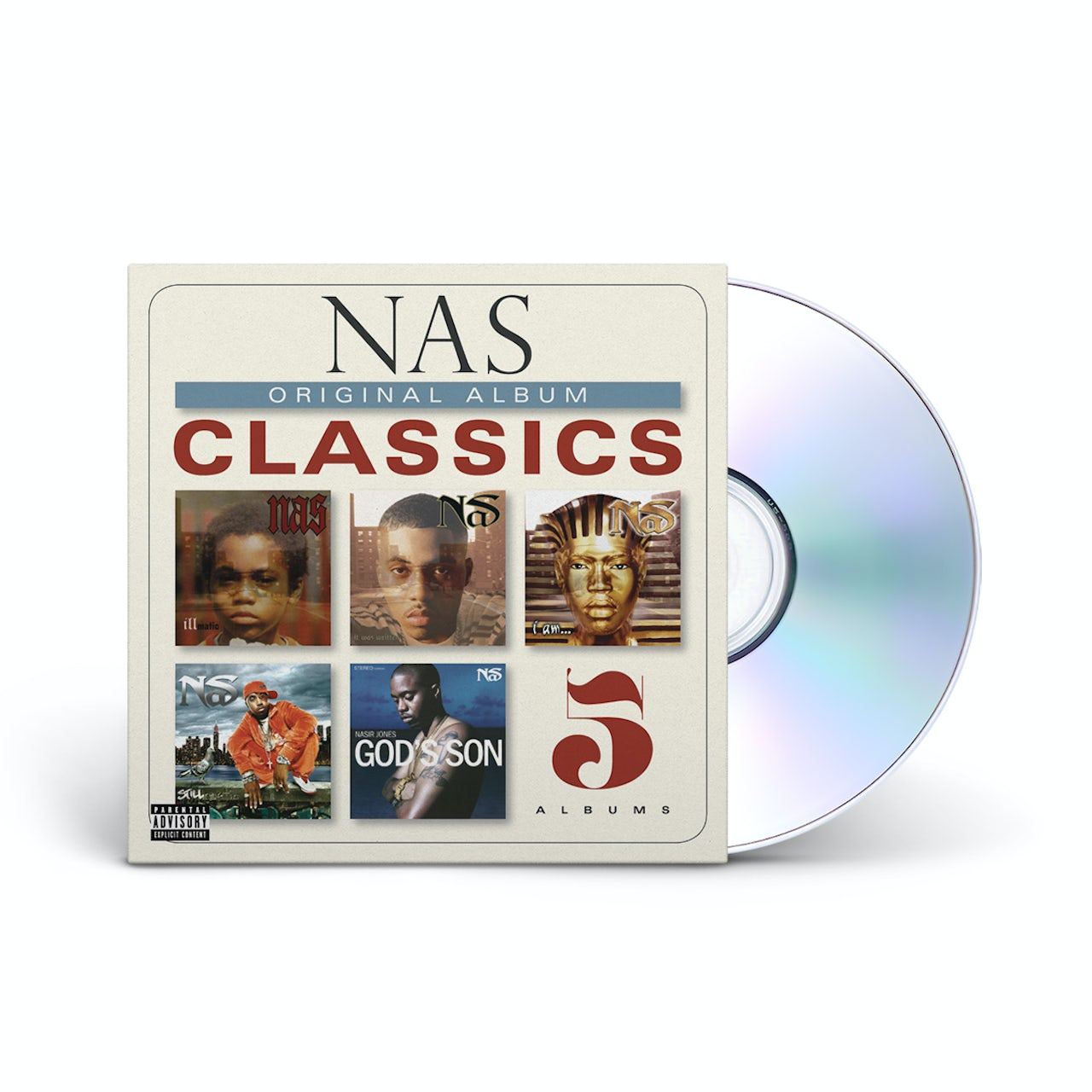 Nas: Original Album Classics CD