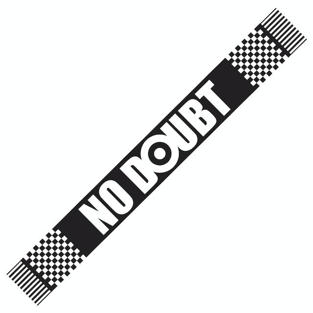 No Doubt Black & White Checkered Scarf