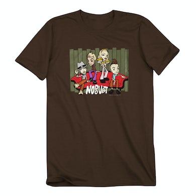 No Doubt Lounge Brown T-Shirt