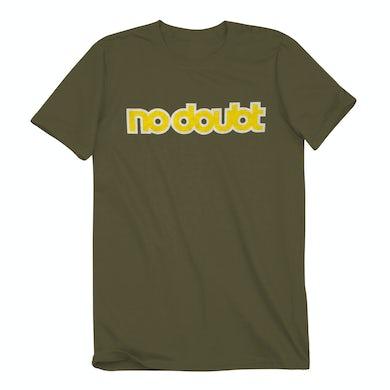 No Doubt Logo Olive T-Shirt
