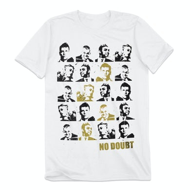 No Doubt Tiles Men's White T-Shirt