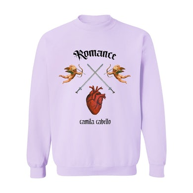 Camila Cabello Romance Lavender Crewneck