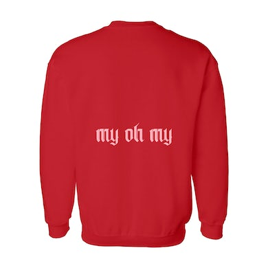 Camila Cabello My Oh My! Red Long-Sleeve Tee