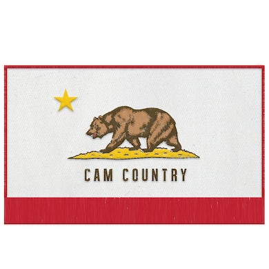 Cam Country Flag Patch