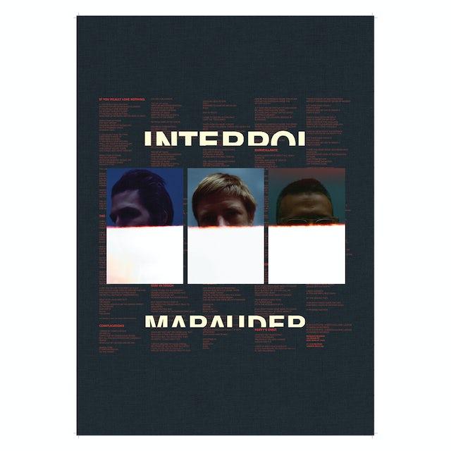 Interpol Marauder Poster