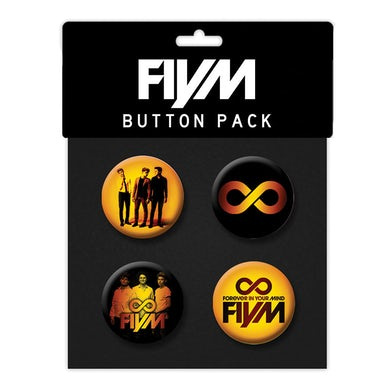 Forever in Your Mind FIYM Button Pack