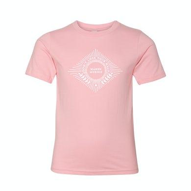 Maren Morris HALO Youth Tee in Pink