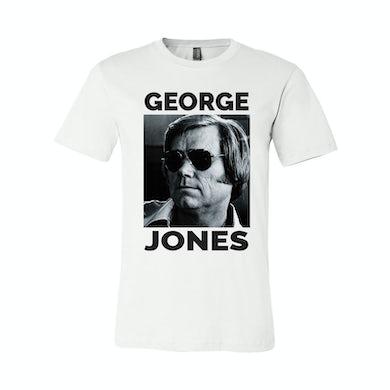George Jones Photo T-Shirt - White