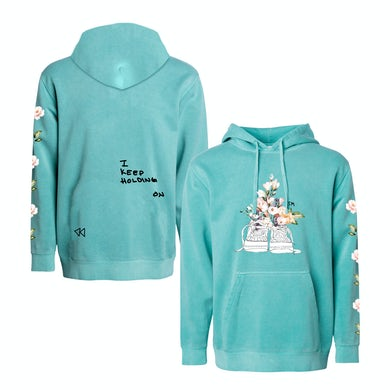 Jake Miller MINT COLORED NIKES PULLOVER HOODIE
