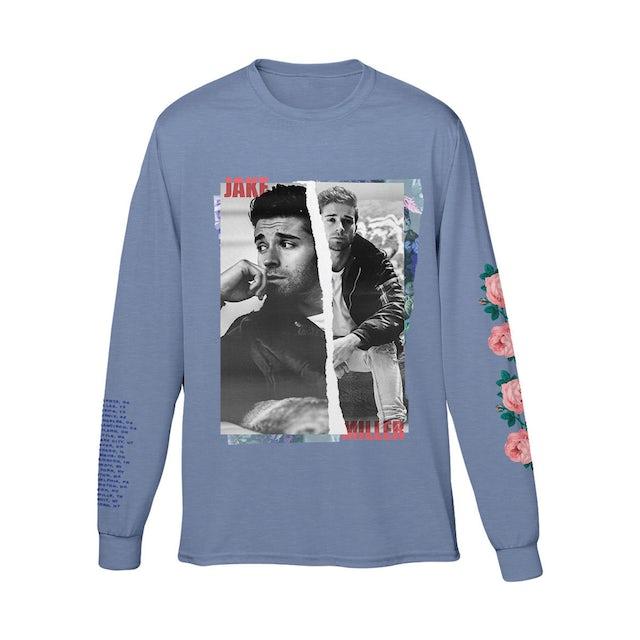 Jake Miller Tour 2019 Blue Longsleeve Shirt