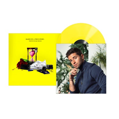 Jake Miller BASED ON A TRUE STORY. EP TRANSLUCENT YELLOW VINYL