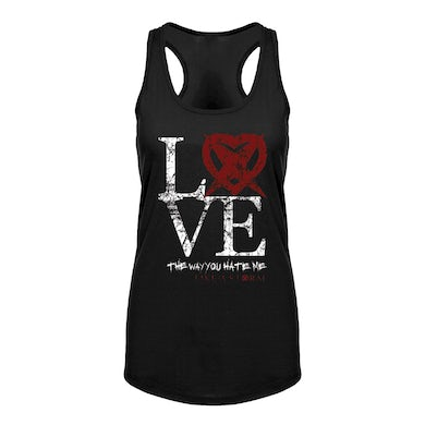 Ladies Love Black Tank Top