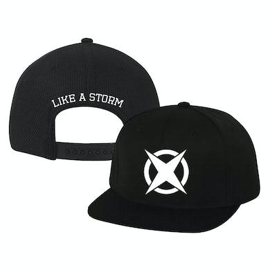 Like A Storm - Black Star Snapback Hat