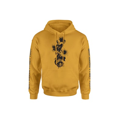Cameron Dallas WHIMY Gold Sunflower Hoodie