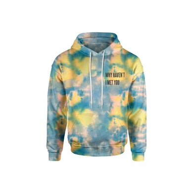Cameron Dallas WHIMY Blue Tie Dyed Sunflower Hoodie