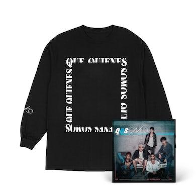 CNCO QQS Black & White Photo Long Sleeve + Digital Album