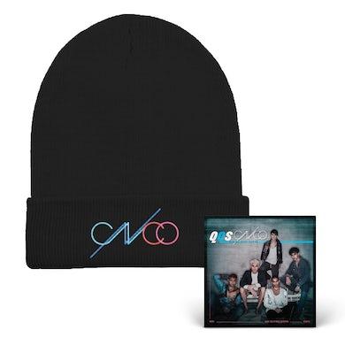 CNCO QQS Black Beanie + Digital Album